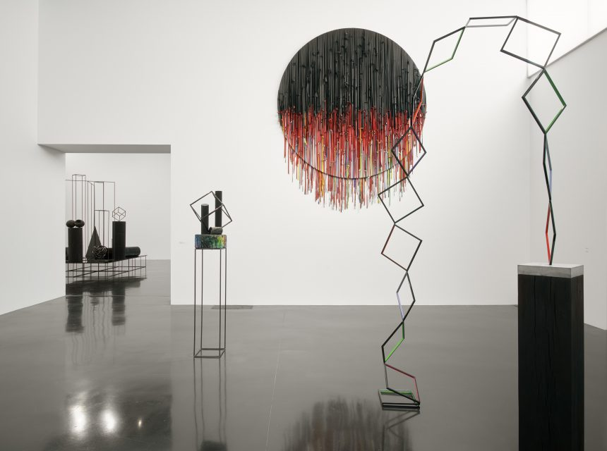 Eva Rothschild, Alternative to Power (installation shot), The New Art Gallery Walsall. Photo: Robert Glowacki