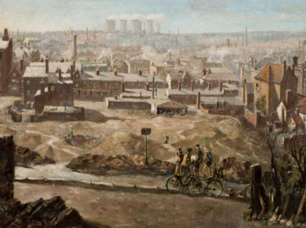 <strong>Herbert Wright</strong>, <em>Walsall as seen from Peal Street</em>, 1958