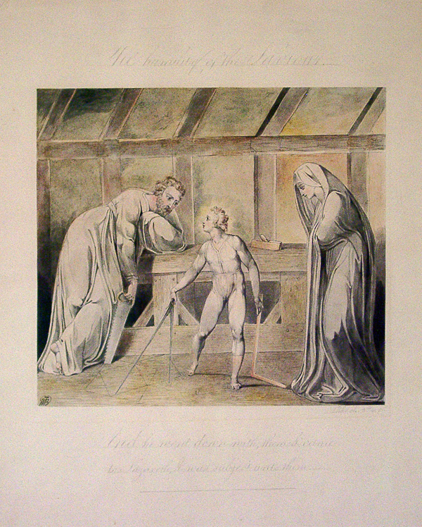 Blake, William The Humility of the Saviour or Christ in the Carpenter's Shop
