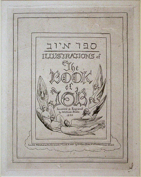 Blake, William Title Page for the Book of Job