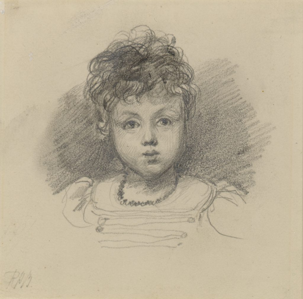Bonington, Richard Parkes (attributed to) Child Study – Miss Montague Cook