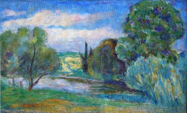 Bonnard, Pierre La Seine a Vernon (The Seine at Vernon)