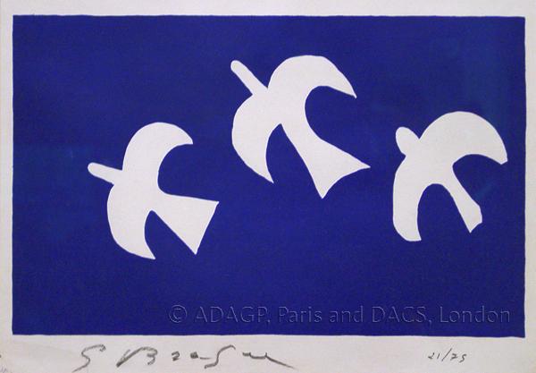 Braque, Georges Birds in Flight