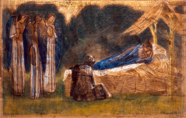 Burne-Jones, Edward The Nativity. Design for Decoration from St Michael's Church, Torquay