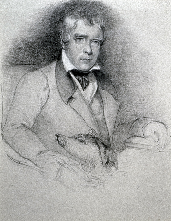 Chisholm, Alexander Sir Walter Scott with his Dog, Bran