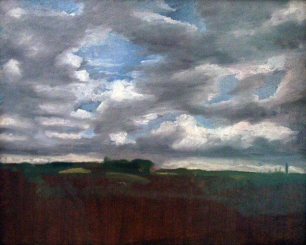 Constable, John Landscape with Clouds