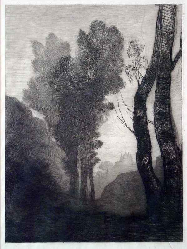 Corot, Camille Les Environs de Rome (The Outskirts of Rome)