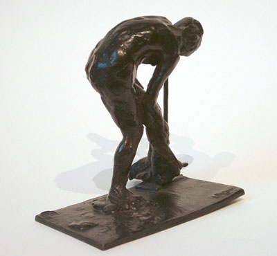 Degas, Edgar Femme se Lavant sa Jambe Gauche (Woman washing her left leg)