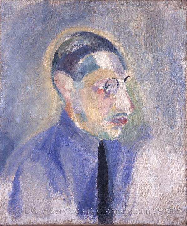 Delaunay, Robert Portrait de Stravinsky (Portrait of Stravinsky)