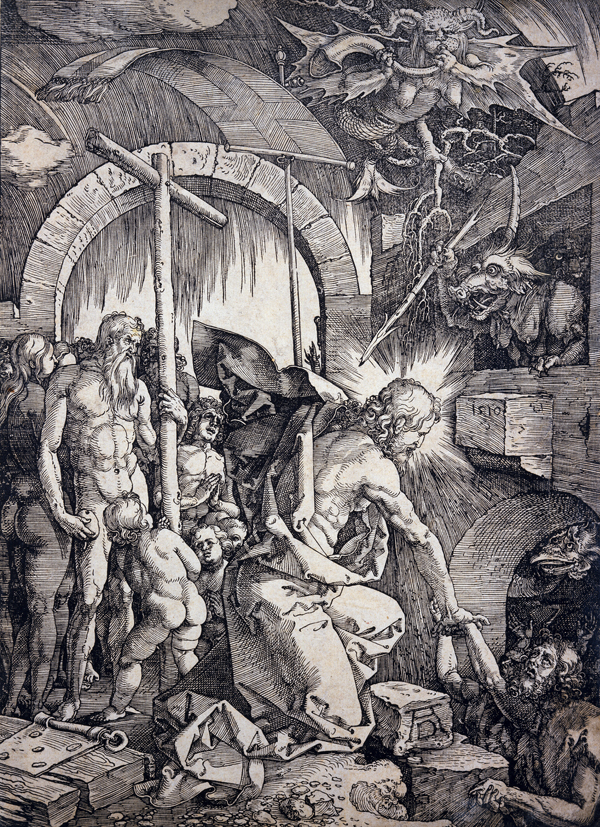 Durer, Albrecht Christ in Limbo (from the 'Large Passion' series)