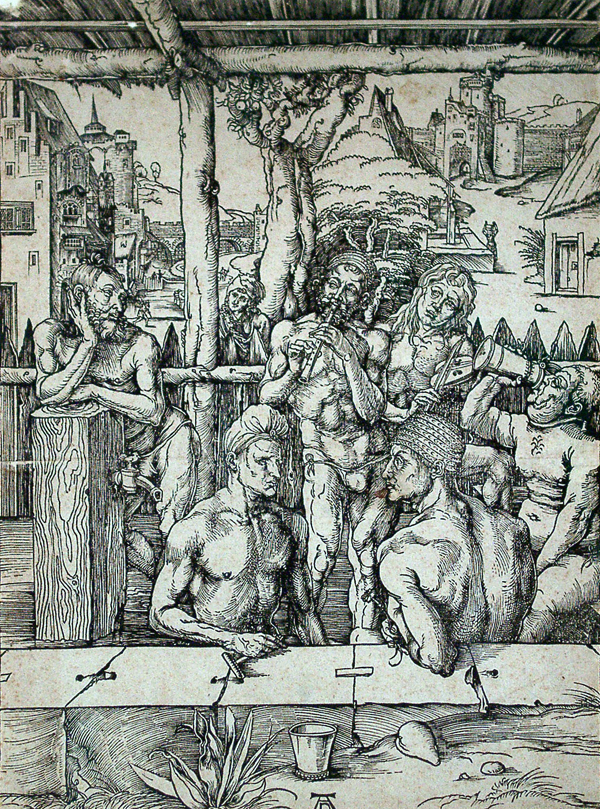 Durer, Albrecht The Men's Bath