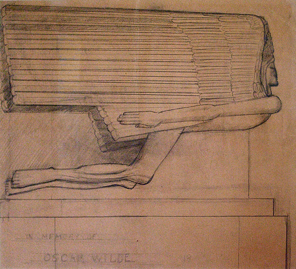 Epstein, Sir Jacob Study for the Tomb of Oscar Wilde