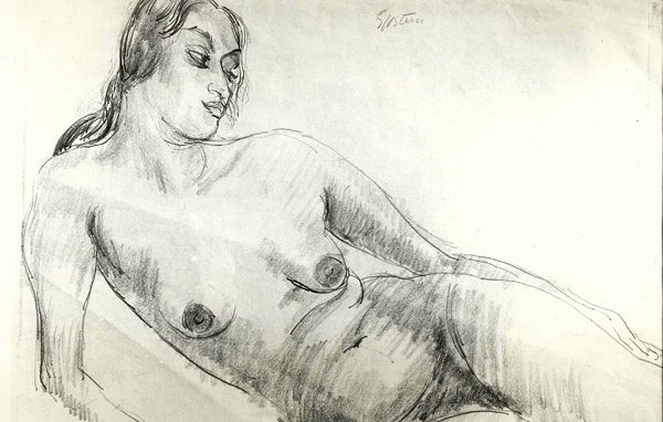 Epstein, Sir Jacob Reclining Model (Sunita Nude)