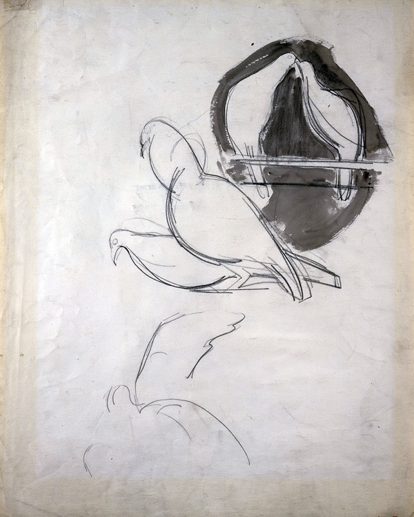 Epstein, Sir Jacob Sketch of Doves