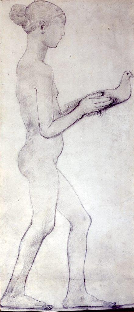 Epstein, Sir Jacob Girl With Dove
