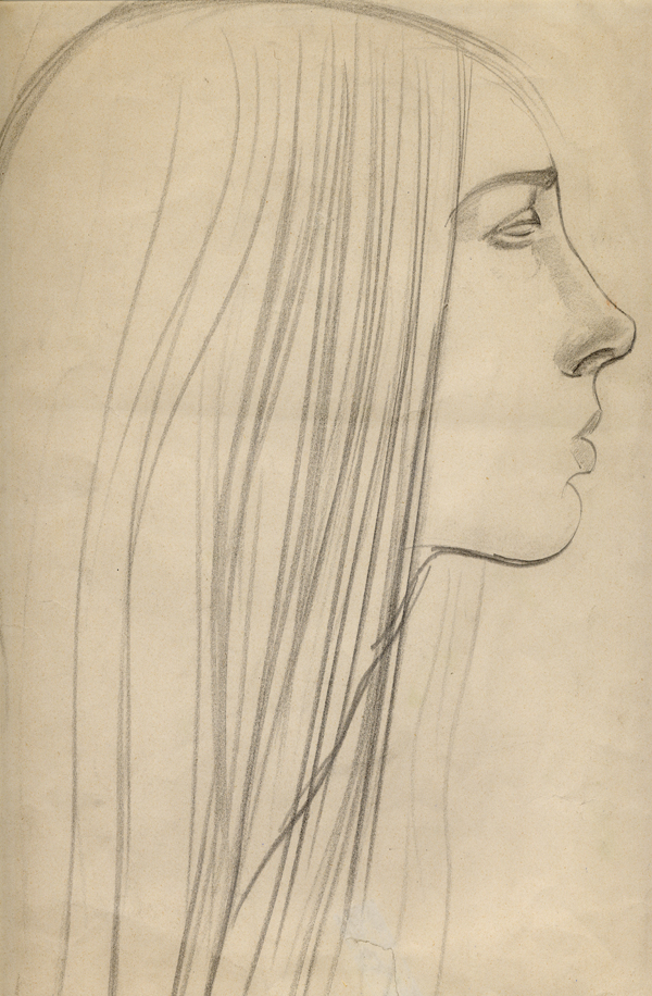Epstein, Sir Jacob Profile of Young Girl
