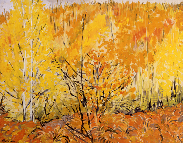 Epstein, Sir Jacob Autumn Landscape, Epping Forest
