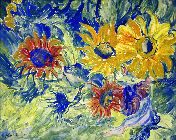 Epstein, Sir Jacob Sunflowers