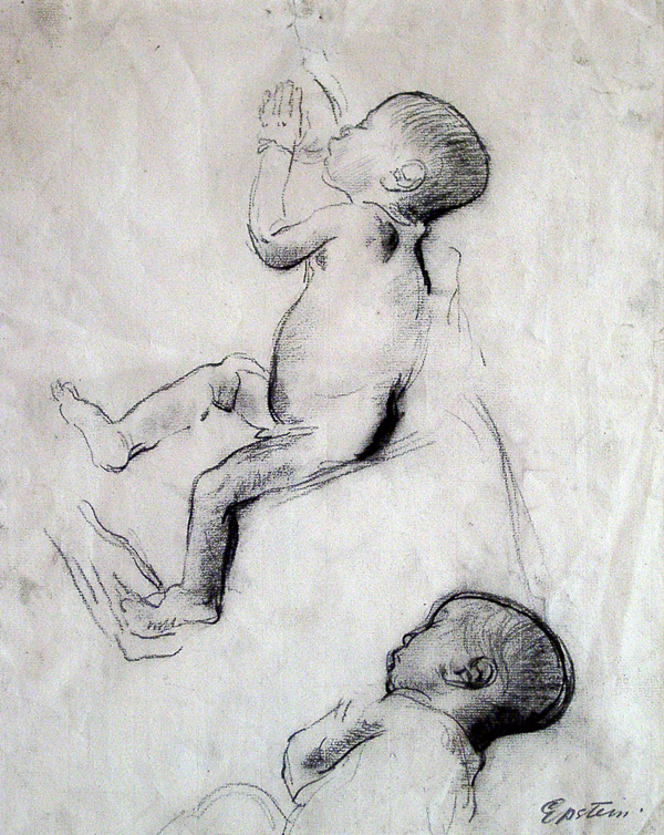 Epstein, Sir Jacob Study of New Born Babe