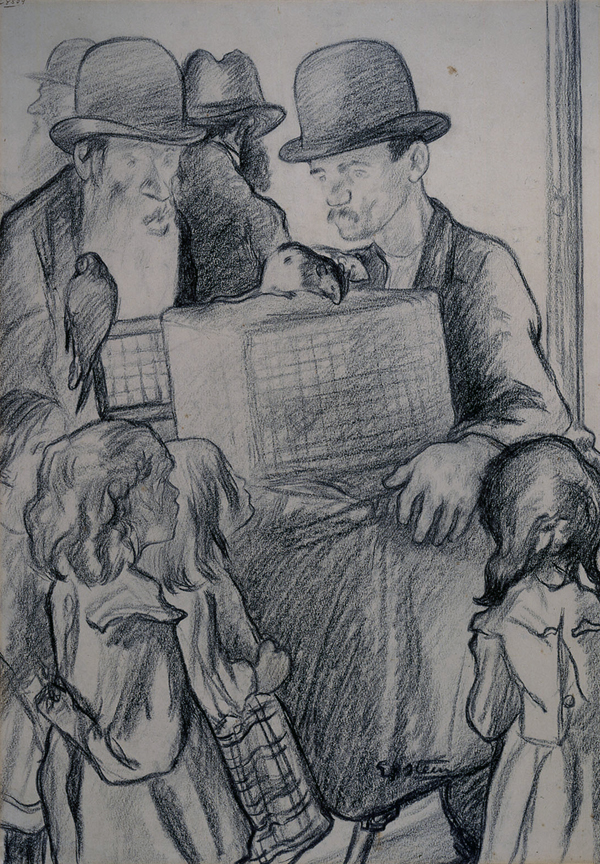 Epstein, Sir Jacob Fortune Telling with Rats