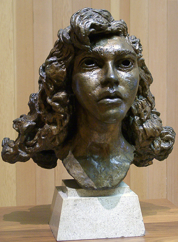 Epstein, Sir Jacob Head of Kitty with Curls