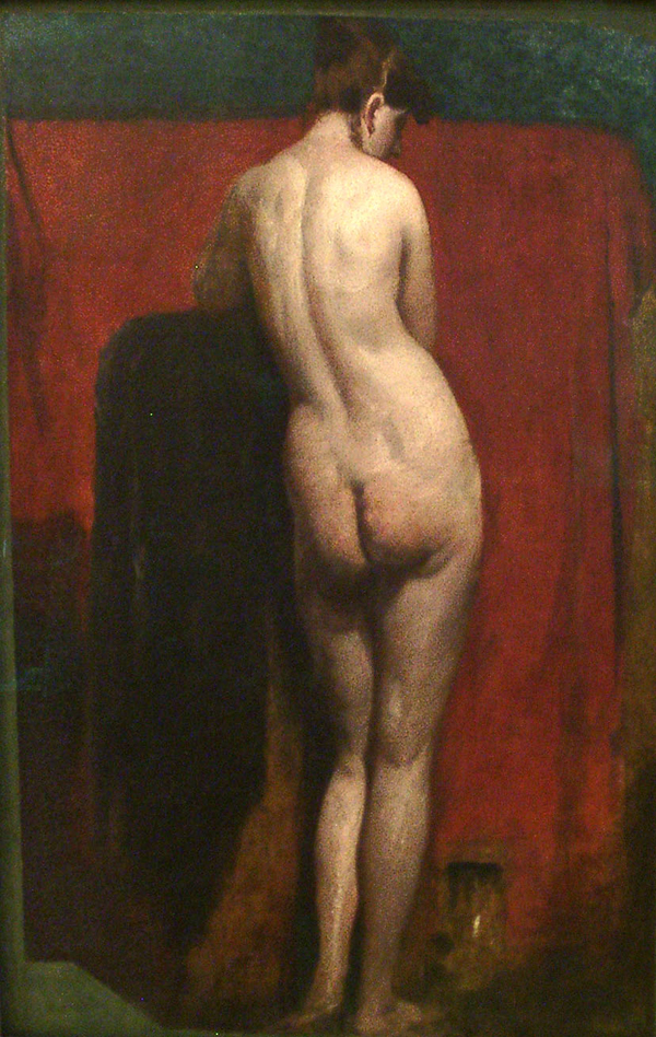 Etty, William Standing Female Nude
