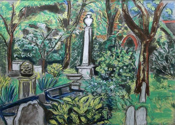 Garman, Theodore Old Graveyard, King's Road, Chelsea