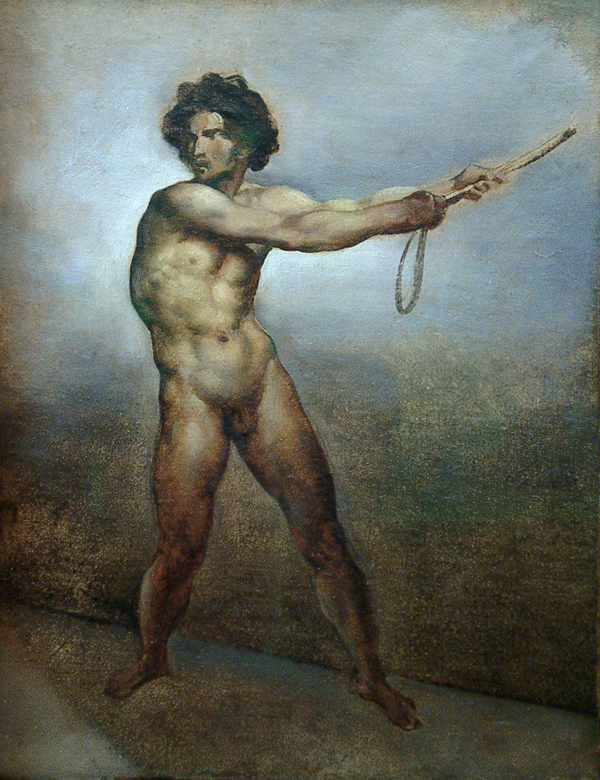 Gericault, Theodore Etude d'un Homme Nu (Study of a Nude Man)