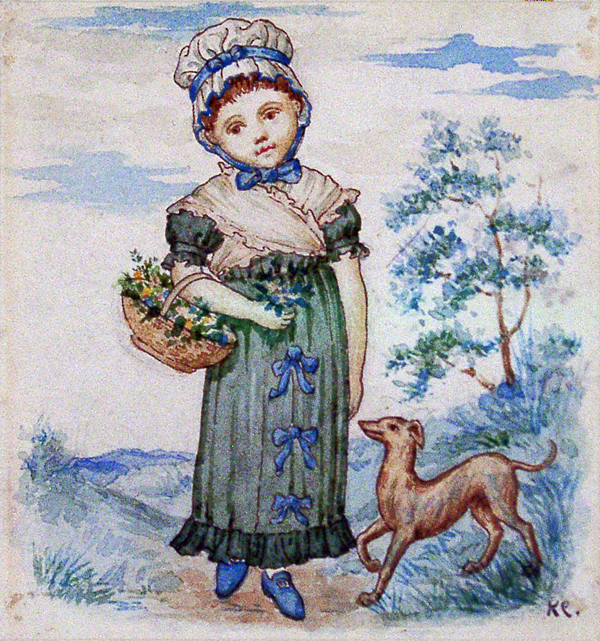 Greenaway, Kate Child with Dog