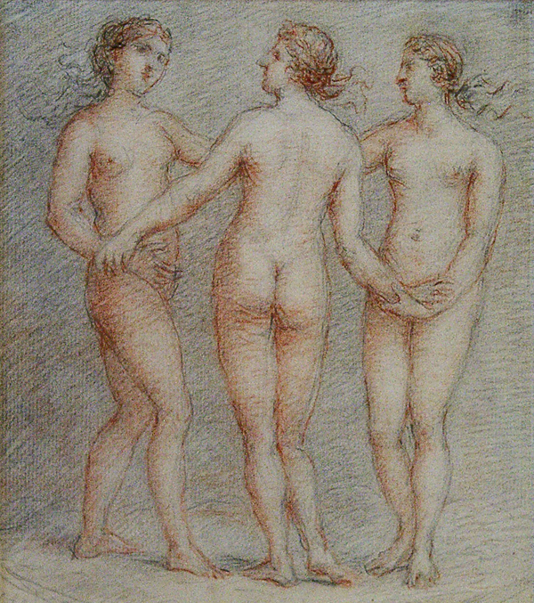 Hoare, William (circle of) The Three Graces