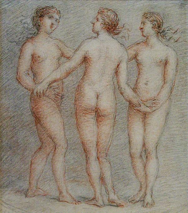 Hoare, William (circle of) The Three Graces