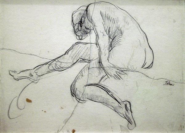 John, Augustus Female Figure Study