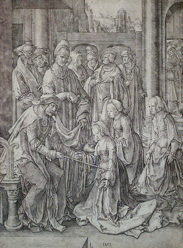 Van Leyden, Lucas Esther before Ahasuerus
