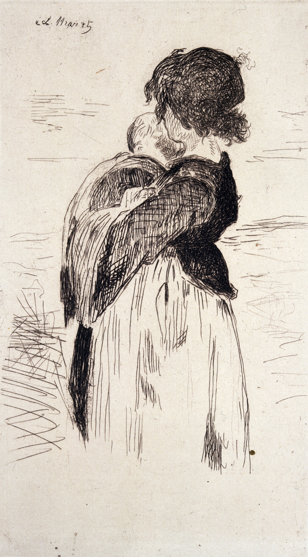 Manet, Edouard La Petite Fille