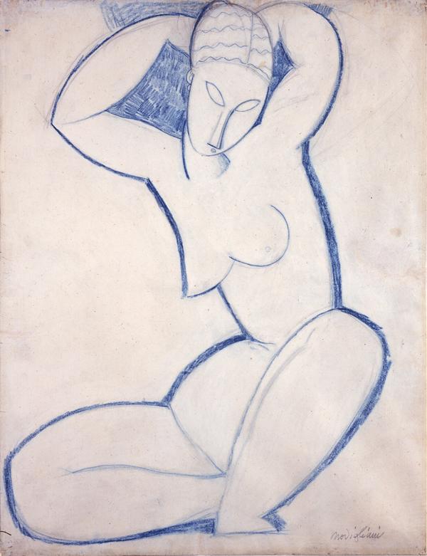 Modigliani, Amedeo Caryatid (Cariatide)