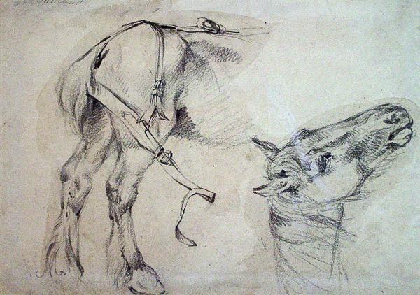 Morland, George Studies of a Horse