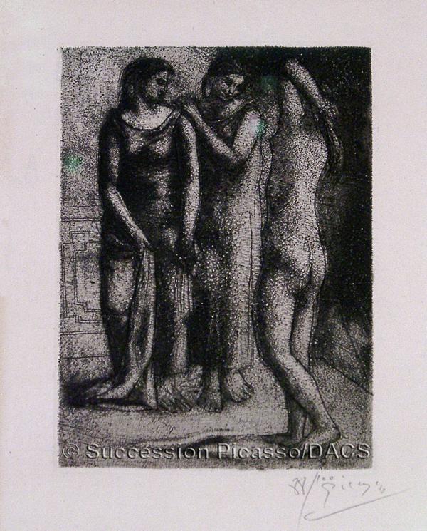 Picasso, Pablo Groupe de trois femmes (Group of Three Women)