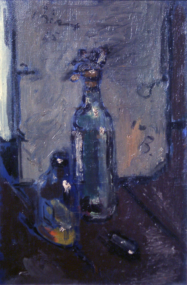 de Pisis, Filippo Still Life with Bottles