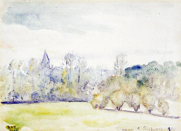 Pissarro, Camille Landscape (Eragny-sur-Epte)
