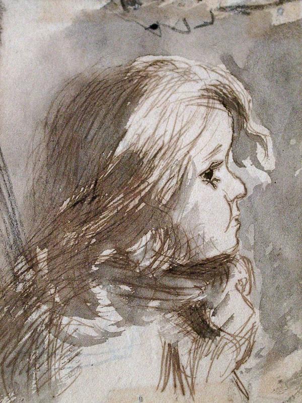 Pissarro, Camille L'Enfant Paul Emile (The Child Paul Emile)