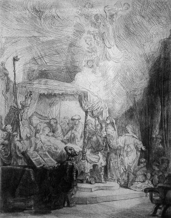 Van Rijn, Rembrandt The Death of the Virgin