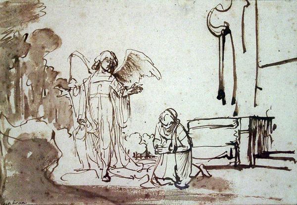 Bol, Ferdinand Hagar at the Well