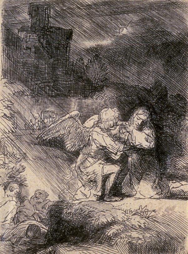 Van Rijn, Rembrandt The Agony in the Garden