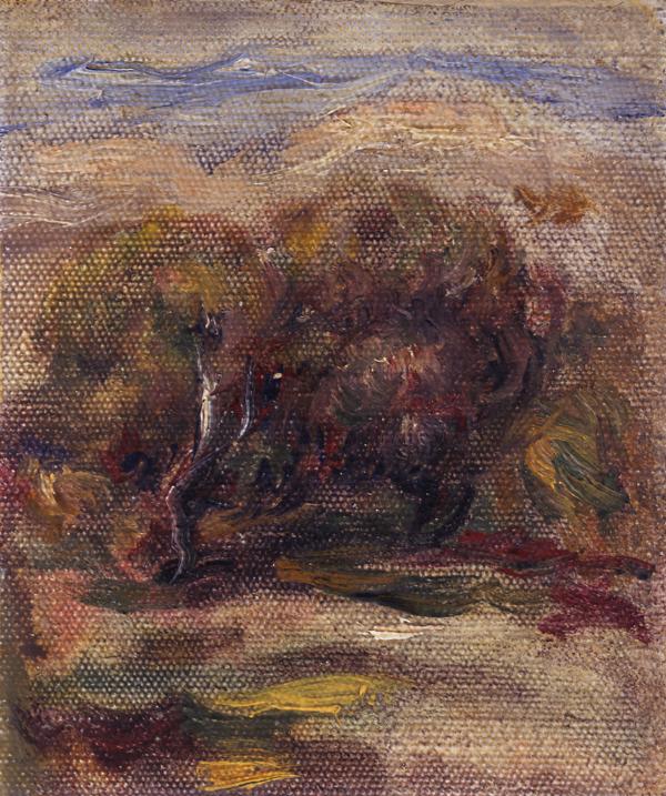 Renoir, Pierre-Auguste Les Oliviers a Cagnes-sur-Mer (The Olive Trees at Cagnes-sur-Mer)
