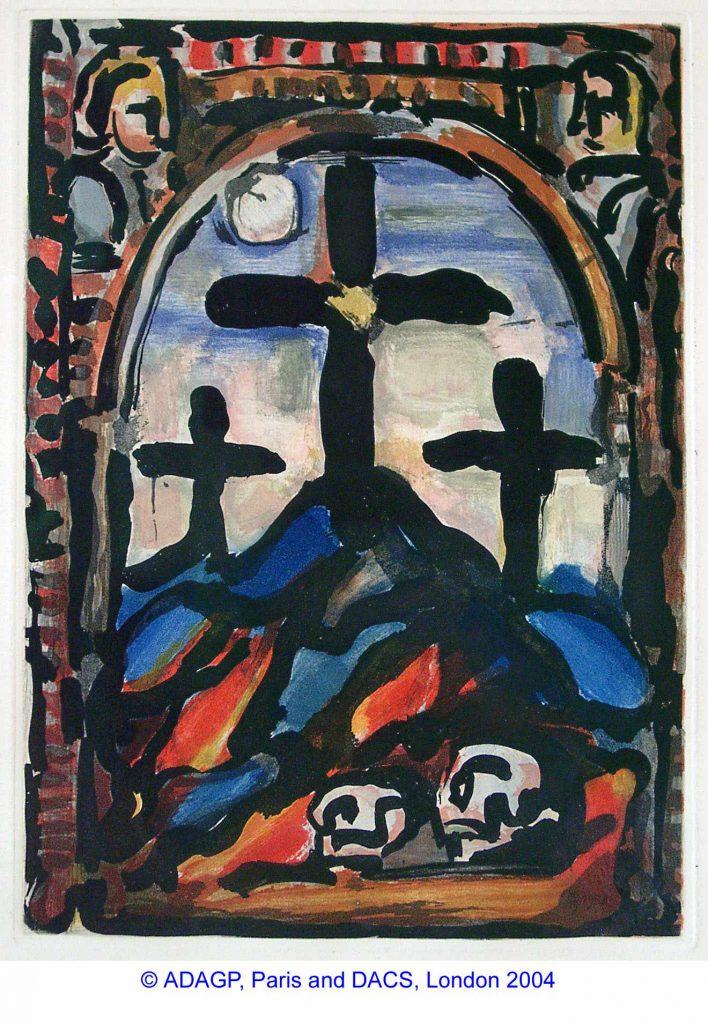 Rouault, Georges Trois Croix (Three Crosses)