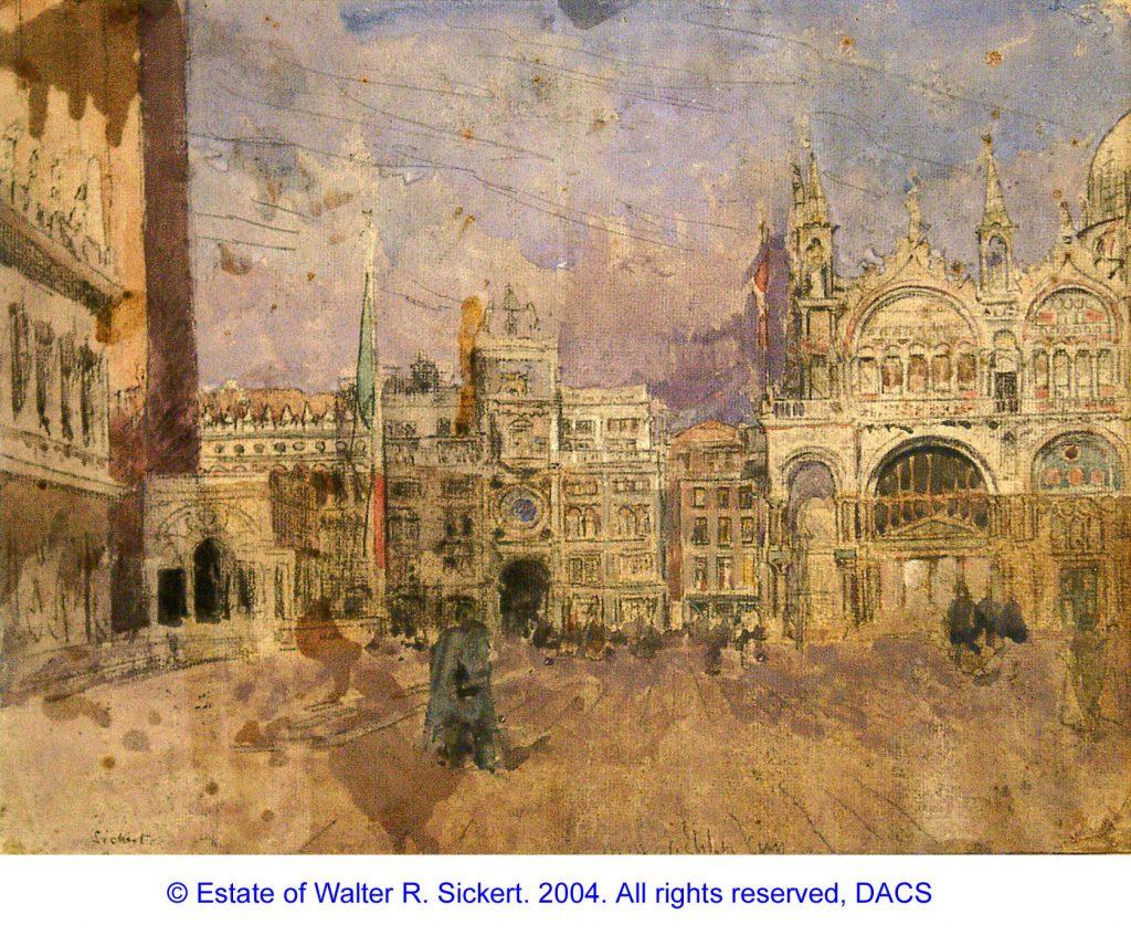 Sickert, Walter Richard San Marco, Venice
