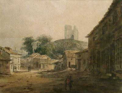 Turner, J.M.W. (school of) Clitheroe Castle