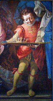 Veronese, Paolo (studio of) Italian Page Boy
