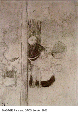 Vuillard, Edouard La Nourrice (The Wet Nurse)
