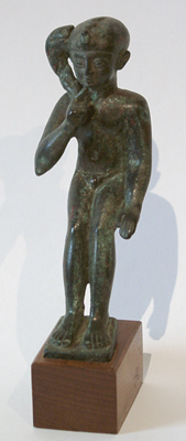 Unknown Egyptian Bronze Figure of Horus